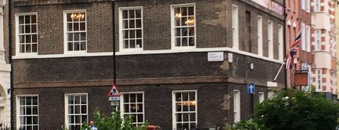House of St Barnabas is one of Tempat yang Disukai Nick.