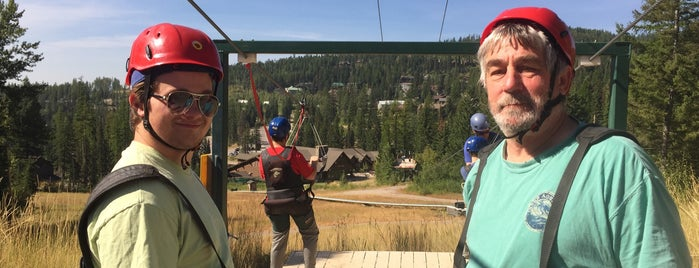 Big Mountain Zip Line is one of My Favorite Places.