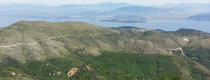 Pantocrator is one of Corfu, Greece.