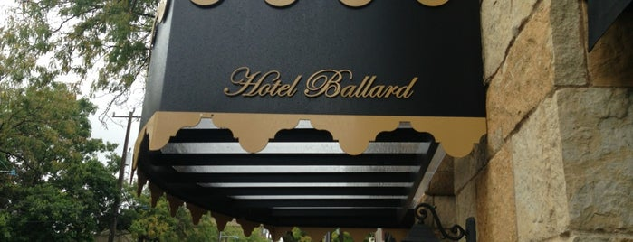 Hotel Ballard is one of Best Spots to Crash.