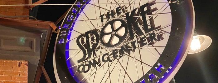 The Spoke on Center is one of Tempat yang Disimpan Max.