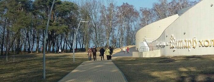 Янтарь Холл is one of Orte, die Павел gefallen.