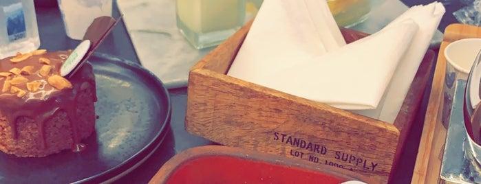 Tabaqat Cafe is one of Locais salvos de Khawla.