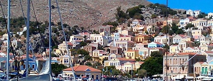 Symi is one of Summer destinations in Greece.
