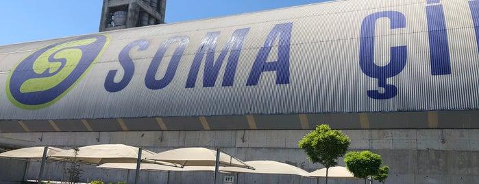 Soma Çimento Fabrikasi is one of สถานที่ที่ Gözde ถูกใจ.