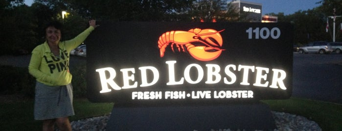 Red Lobster is one of v Day.
