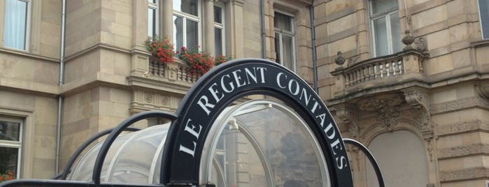 Hotel Regent Contades is one of Strasbourg.