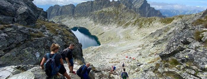 Sedlo Bystrá lávka (2300 m n. m.) is one of Turistické body v TANAP-e.