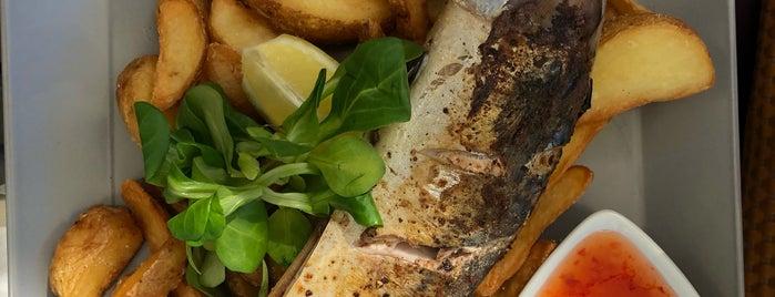 Shrimpy Street Food Bar is one of Locais curtidos por Katka.