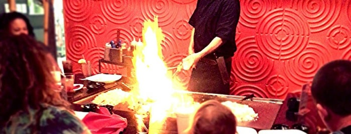 Umami Japanese Steakhouse and Sushi is one of Kelly 님이 저장한 장소.