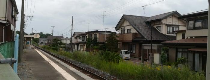 Shirogane Station is one of JR 키타토호쿠지방역 (JR 北東北地方の駅).