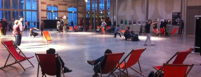 Le CENTQUATRE – 104 is one of Paris, I'm not a tourist, but a mobile citizen.