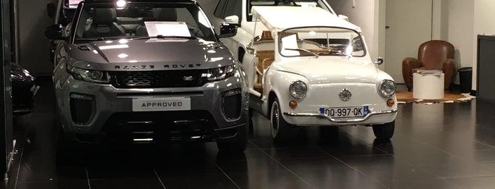 Jaguar / Land Rover is one of Monaco.