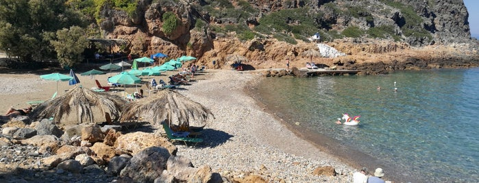 Afrata Beach is one of Kolympari.