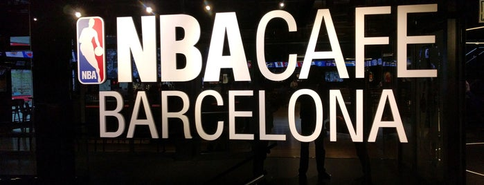 NBA Cafe Barcelona is one of Barcelona centre.