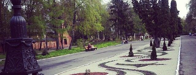 Центральний парк культури і відпочинку is one of Екатерина'ın Beğendiği Mekanlar.