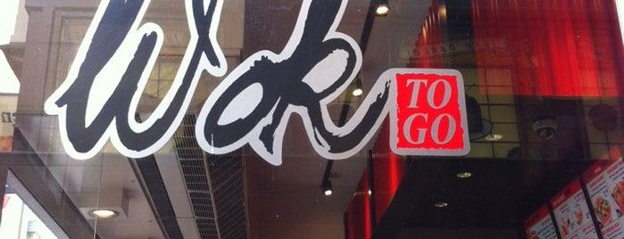Wok to Go is one of Tempat yang Disukai Katya.