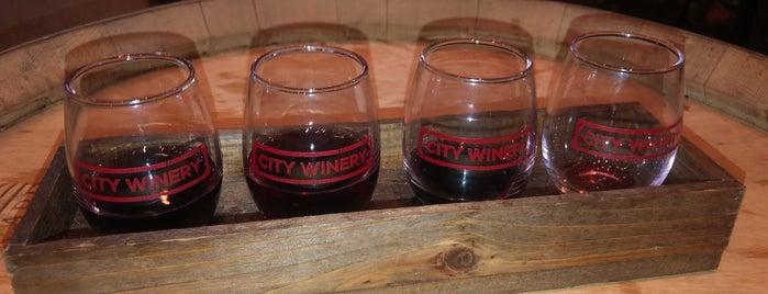 City Winery is one of Bars, Pubs, & Speakeasys.