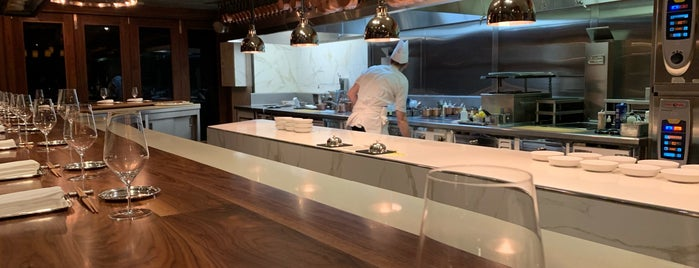 Chef's Table At Brooklyn Fare is one of Top Rated NYC Restaurants.
