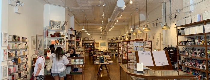 McNally Jackson Store: Goods for the Study is one of Tempat yang Disukai N.
