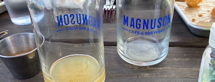 Magnuson Cafe & Brewery is one of Brunch places.