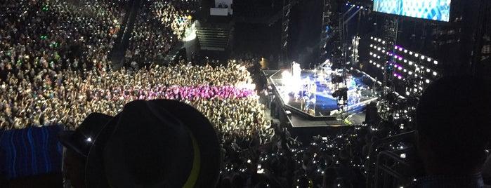 T-Mobile Arena is one of Orte, die Drew gefallen.