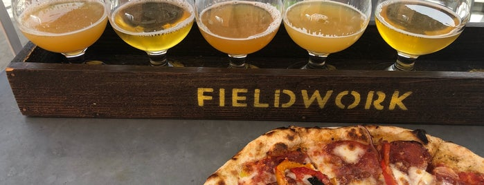 Fieldwork Brewing Company is one of Orte, die Drew gefallen.