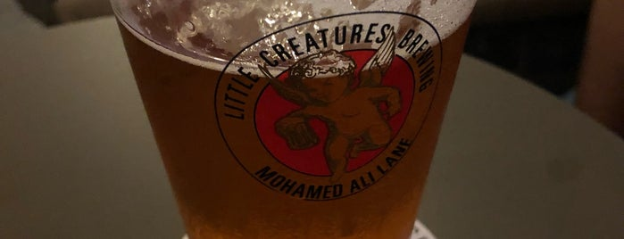 Little Creatures is one of Singapore to-do.