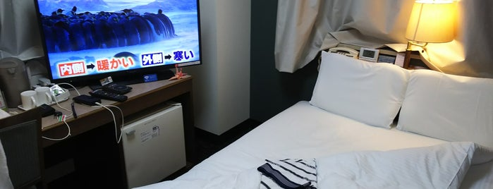 APA Hotel Sendai-Kotodai-Koen is one of Lugares favoritos de Shigeo.