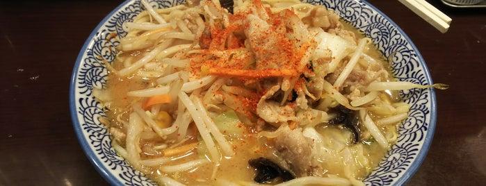 辛味噌タンメン カラ助 is one of Lugares favoritos de Shigeo.