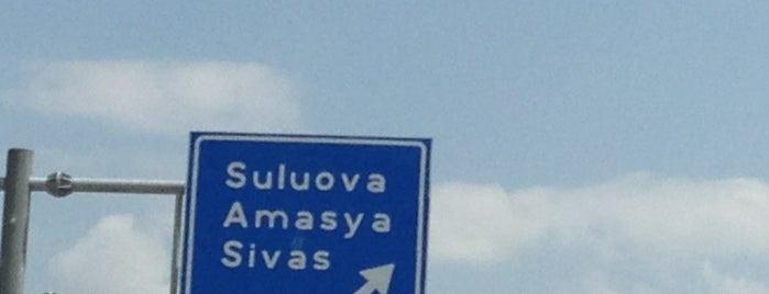 Suluova is one of Tempat yang Disukai Samet.