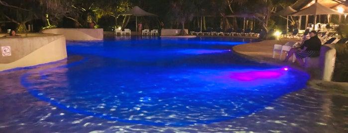 Kingfisher Bay Resort is one of Stevenson's Favorite World Hotels.