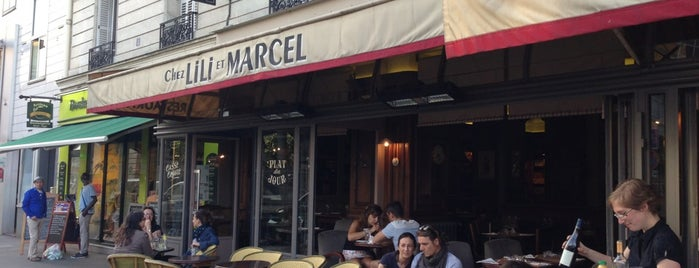 Chez Lili et Marcel is one of Paris.