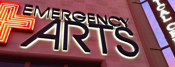 Emergency Arts is one of Viva Las Vegas.