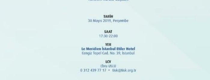 Le Meridien Hotel Balo Salonu is one of Orte, die Deniz gefallen.