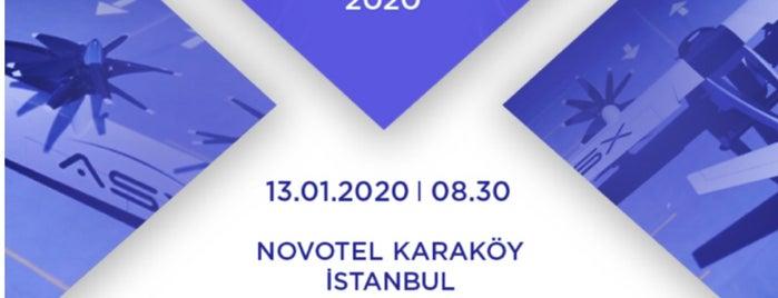 Novotel Istanbul Bosphorus is one of Orte, die Teoman gefallen.