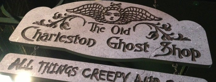 The Old Charleston Ghost Shop is one of South Carolina.