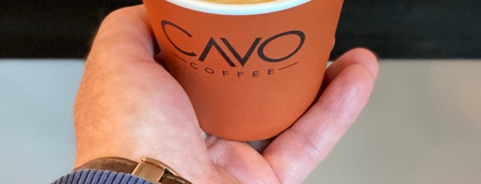 Cavo Coffee is one of Tempat yang Disukai barbie.