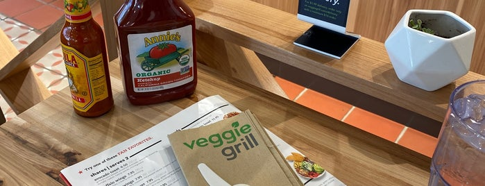 Veggie Grill is one of Open for take out.