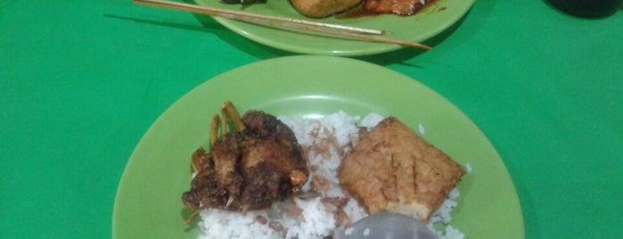 Nasi Uduk Ijo khas Bogor is one of Kuliner Bekasi.