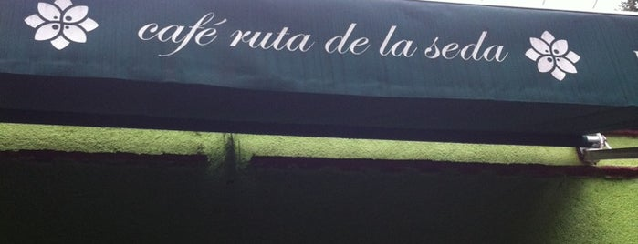 Café Ruta de la Seda is one of Some best places of Mexico City..
