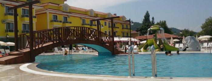 Abana Tatilya Resort Hotel is one of Ayça'nın Beğendiği Mekanlar.