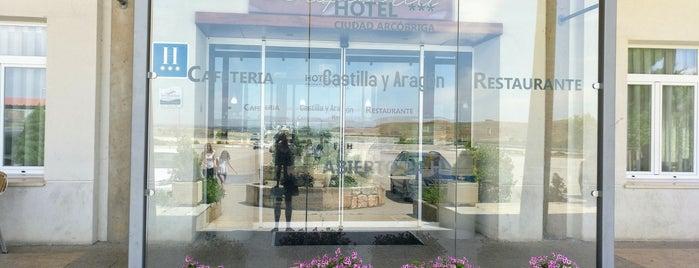 Hotel Ciudad Arcobriga is one of Restaurantes.