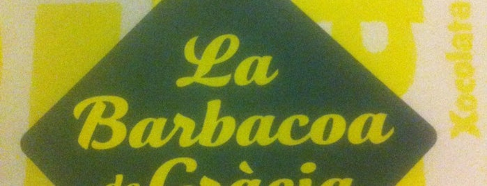 La Barbacoa de Gràcia is one of Restaurantes.