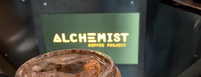 Alchemist Coffee Project is one of Los Angeles cafes.