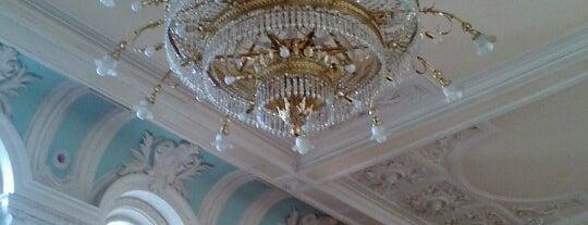 Рахманиновский зал Московской государственной консерватории имени П.И. Чайковского is one of Мусикиа.