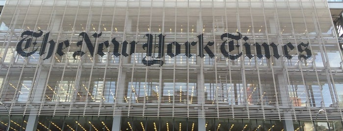 The New York Times Building is one of Lugares favoritos de Paco.
