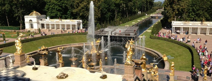 Peterhof Museum Reserve is one of Russia.