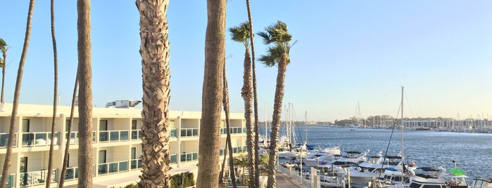 Marina del Rey Hotel is one of Venice beach.