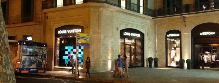 Louis Vuitton is one of Palma.